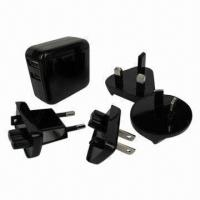 China 2.4A Wall Charger with Two USB Ports, Works with All Mobiles and Tablets  on sale