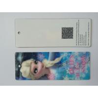 Quality 3D Lenticular Personalised Bookmarks For Schools , Bookmark Printing Services for sale