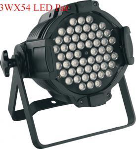 China LED Par Can Lights 3W X 54PCS RGBW LED Wash Par Lighting For KTV on sale