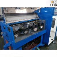 Durable 24D Horizontal Copper Wire Drawing Machine Belt Transmission Type