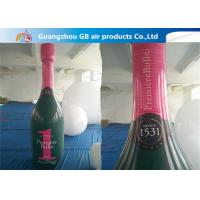 China Good Quality OEM PVC Inflatable Champagne Bottle For Advertising wholesale
