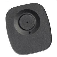 High quality plastic alarming tag EAS RF black security tag for supermarket anti