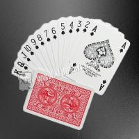 China Modiano Golden Trophy Poker Size 4 Standard Index Plastic Playing Cards For XF UV Conatct Lens on sale