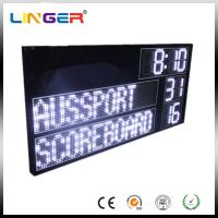 Buy cheap High Brightness AFL Electronic Soccer Scoreboard Led Cricket Scoreboard With Led Team Name from wholesalers