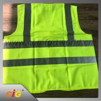 China Roadway Winter Reflective Safety Coat For Personal Security Waterproof And Windproof on sale