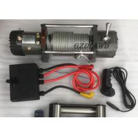 China Remote Control Wireless Heavy Duty Electric Winch 4X4 Off road 9500LBS For Truck / SUV wholesale