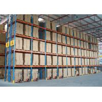 China Customize Metal Heavy Duty Storage Racks Timber Pipe ISO9001 / AS4084 Approval wholesale