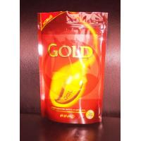 China Printed Coffee Bag Packaging / Stand Up Plastic Bags With Ziplock wholesale