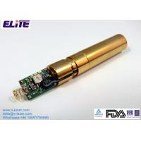China EL52D50IG12 525nm 30mW Green Dot Laser Diode Module CW Mode with APC wholesale