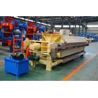 China 1250mm Big PP Plate Automatic High Pressure PP Chamber Filter Press wholesale
