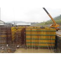 China Waterproof Concrete Wall Formwork , High Security Panel Formwork wholesale