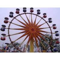 China Flower Cabins Design Amusement Park Ferris Wheel Driven By Electric Control System wholesale