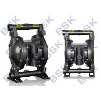 China High Pressure Air Driven 2 Diaphragm Pump Aluminium Alloy For Chemical wholesale