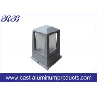 China Power Coating Aluminium Die Casting Led Housing For Outdoor Garden Lawn Light wholesale