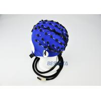 China 7 Different Color EEG Skull Cap , EEG Sensor Cap For Parkinsons Disease wholesale