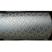 China Alloy Steel Embossing Roller For Paper , Tissue , Foil And Leather With Different Pattern wholesale