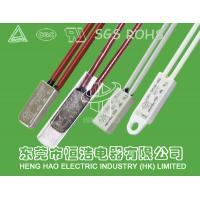 China Snap Type Mini Thermal Protector , KI66 Electric Motor Thermal Switch wholesale