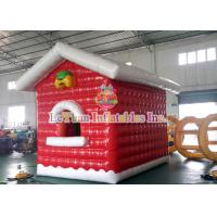 China Air Closed Movable Inflatable Christmas Tent Colorful Inflatable House fire retardant wholesale