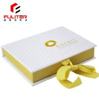 China Book Shaped A5 Jewelry Set Gift Box , Cardboard Jewelry Boxes With Logo wholesale