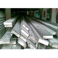 China Cold Drawn 200 / 300 Series Stainless Steel Profiles Flat Bar Hot Rolled wholesale