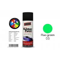 China Fluo Green Color Liquid Rubber Spray For Protecting Various Surfaces  wholesale