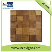 China Natural solid wood mosaic tiles for wall tiles wholesale
