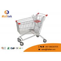 China Retail Grocery Store Commercial Shopping Trolley European Style Foldable Trolley Cart on sale