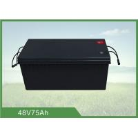 China 48V 75AH Battery Energy Storage System over 1500 cycles @ 100% DOD wholesale