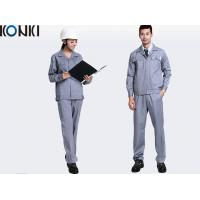 China Adults Safety Professional Work Uniforms For Builders Work Wear / Engineer Uniform wholesale