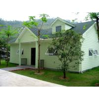 China modern house designs light steel structure villa and prefabricated house wholesale