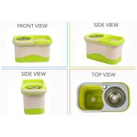 China KXY-FT Double color spin mop 360,360 Spin Mop,Deluxe 360 Spin Mop,360 Spin Mop With Folding Bucket Factory wholesale