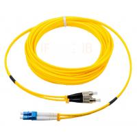 China FC to LC singlemode duplex optical fiber jumper 0.2dB insertion loss corning fiber on sale