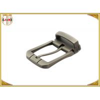China Unique Design Square Metal Brass Color Belt Buckles 35mm Inner Size Zinc Alloy wholesale