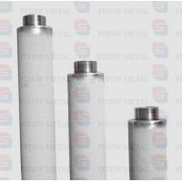 China Purity 99.7% pure titanium powder cartridge micro filter for ozone water treatment wholesale