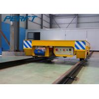 China Battery Powered Electric Flat Transfer Car on Rail with Remote and Hand wholesale