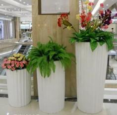 China Fiberglass Plant Pots/Garden Pots/Planter Flower Pot wholesale