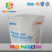China Reusable Microwave Sterilizer Plastic Pouches Packaging Bags , Standing Up Pouch WIth Zipper wholesale