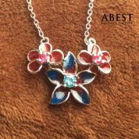 Buy cheap Fashion 925 Sterling Silver Dragonfly Shape Color Enamel Pendant Gift Design from wholesalers
