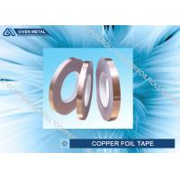 China Self Adhesive EMI Shielding Copper Foil Tape With ROHS , SGS , CTI Certificate wholesale