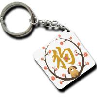 China Practical Personalized Metal Keychains For Cars Multi Color Optional wholesale