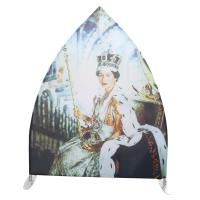 Quality Unique Tension Fabric Banner Stands Double Side Printing Portable Sailing Shape for sale