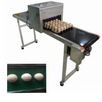 China 4A Free Upgrade Eggs Food Inkjet Printer With Full - Disk Printing Method wholesale