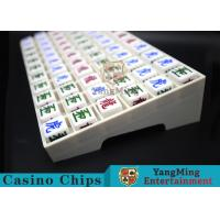 Exquisite Carvings 66pcs Casino Game Accessories Result Indicator For Gambling