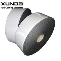 China PE Gas Pipe Insulation Tape , Black / White Color Wrapping Tape For Pipe wholesale