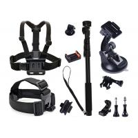 China GoPro Sport Camera Kit 13 in 1 Head Strap Mount + Chest Belt Strap Mount wholesale