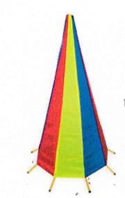 Buy cheap Waterproof Fabric 1200mm Collapsible Traffic Cone from wholesalers