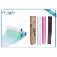 China SGS Pink / White / Black / 40GSM Non Woven Medical Fabric Hydrophilic Polypropylene wholesale