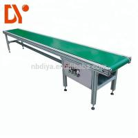 China Double Face Belt Conveyor Belt System DY90 Green Rubber Plastic With Aluminum Alloy wholesale