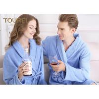 China Custom Polyester Blend Hotel Quality Bathrobes for Women / Long Elegant Robe wholesale