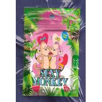 China Zipper Round Hole Mini Ziplock Bags 3g Sexy Monkey Laminated Botanical Sachet wholesale